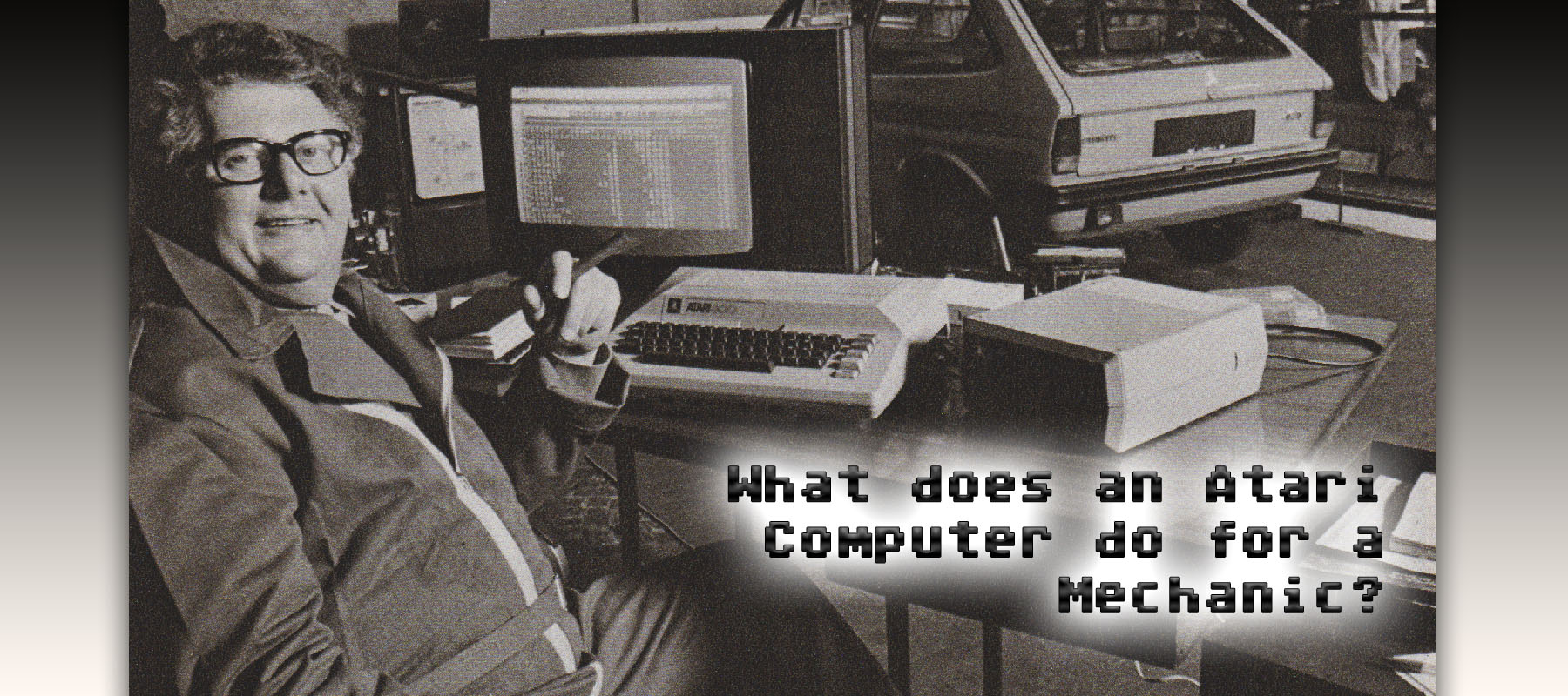 What can the Atari Computer do for a mechanic?